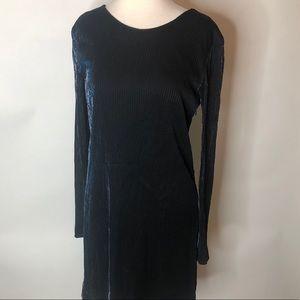 Kenzo Paris Blue Shimmer Dress